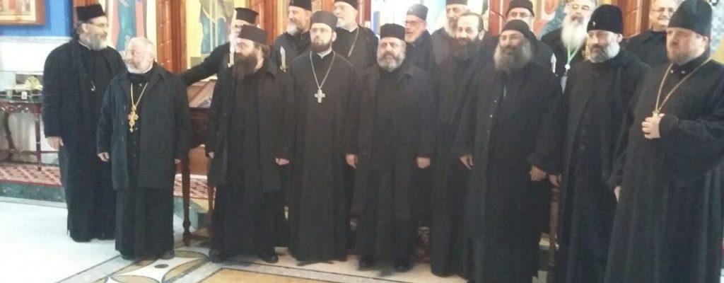 Посещение храма делегацией из Сирии.
