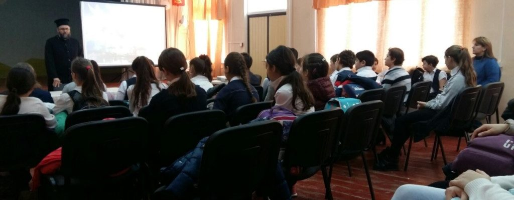 Встреча с учащимися школы №66.