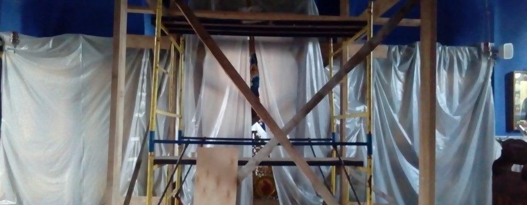 Реконструкция верхнего храма.